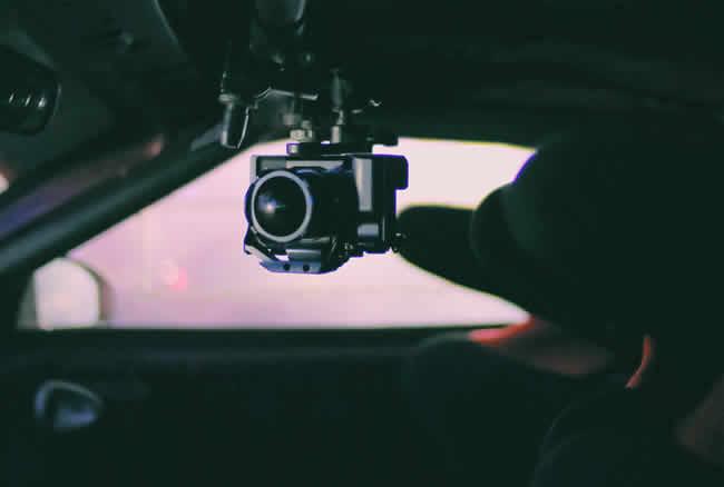 coche con camara videovigilancia